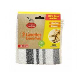 Ecodis Sada univerzálních utěrek z recyklovaných vláken (2ks)