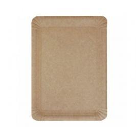 Tácek papírový 26x18cm Natural hnědý (250ks)