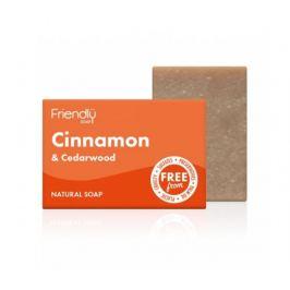 Friendly Soap Přírodní mýdlo skořice a cedrové dřevo 95g