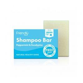 Friendly Soap Přírodní mýdlo na vlasy máta a eukalyptus 95g