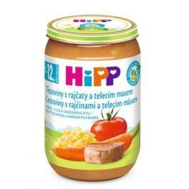 HIPP DĚTSKÉ MENUBIOrajč.s těst+tel.mas.220gCZ6833