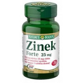 Nature's Bounty Zinek FORTE 25mg tbl.100