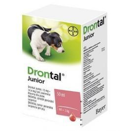 Drontal JUNIOR a.u.v.susp.50 ml+apl.