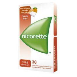 Nicorette Freshfruit Gum 4mg orm.gum mnd. 30x4mg