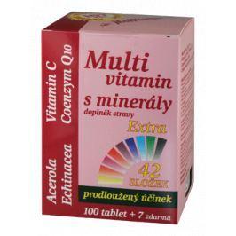MedPharma Multivitamín s minerály+extra C tbl.107