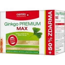 Cemio Ginkgo Premium Max tbl.60+30 ČR/SK
