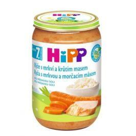 HIPP JUNIOR BIO Rýže s karot.a krůt.m..220g.CZ6530