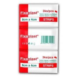 Náplast Fixaplast strip 8x4cm 3ks