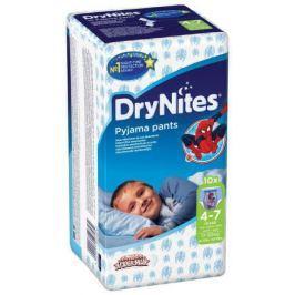 HUGGIES DryNites kalh.abs. M 4-7/boys/17-30kg/10ks dětské pleny