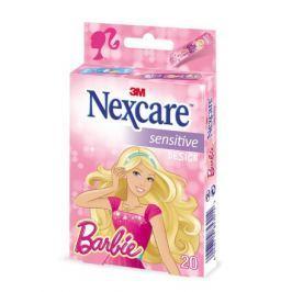 3M Nexcare Dětská náplast Barbie 19x72mm 20ks
