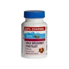 Swiss MAX BRUSINKY PASTILKY tbl.30+6