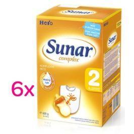 Sunar complex 2 - 6 x 600g - výhodné balení