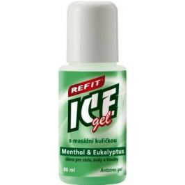 Refit Ice gel roll-on Eukalypt na krční páteř 80ml