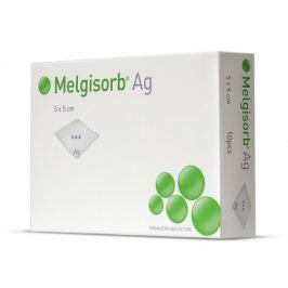 Krytí Melgisorb Ag 5x5cm absorp.alginát.ster. 10ks