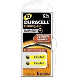 Baterie do naslouch.Duracell DA10 Easy Tab 6ks