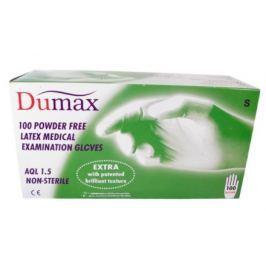 DUMAX vyšetř.latex.nester.nepudr.rukavice S/100ks