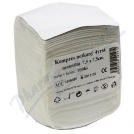 Kompres netk.text.nest.7.5x7.5cm/100ks Steriwund