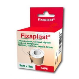 Náplast Fixaplast cívka 5cmx5m 1ks