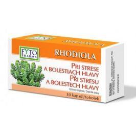 RHODIOLA tobolky při stresu 30ks Fytopharma