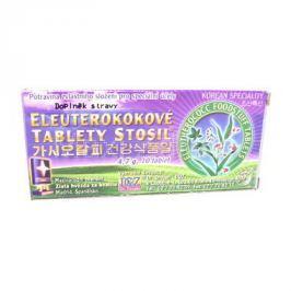 Eleuterokokové tablety Stosil 4.7g=10tbl.