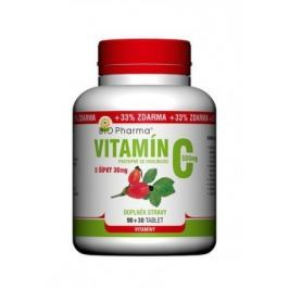 Vitamín C 500mg s šípky prodl.účinek tbl.90+30