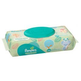 Pampers Naturally Clean ubrousky 64 ks