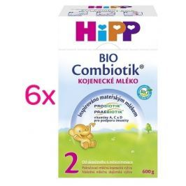 HiPP MLÉKO HiPP 2 BIO Combiotik 6x600g