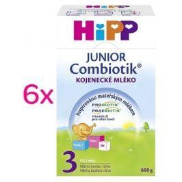 HiPP MLÉKO HiPP 3 JUNIOR Combiotik 6x600g