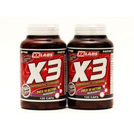X3 Thermogenic Fat Burner 120 + 120 cps Zdarma