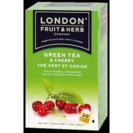 čaj LFH zelený s višní 20x2g n.s.