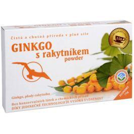 Ginkgo s Rakytníkem powder 75g