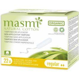 Tampony MASMI REGULAR z organické bavlny 18ks
