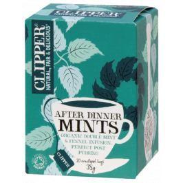 čaj Clipper After Dinner Mints Mát.fen.zázv.20n.s.