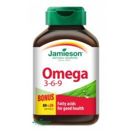JAMIESON Omega 3-6-9 1200mg tob.100