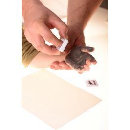 Barva na dětské otisky - šedá