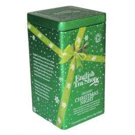 English Tea Shop Dárková plechovka luxusních čajů 15 pyram. Vánoční noc