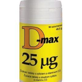 D-Max 25mcg tbl.90