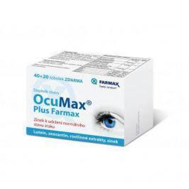 Ocumax Plus Farmax tob.40+20 zdarma