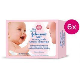 Johnson´s Baby prsní vložky pro kojící matky 6 x 50ks