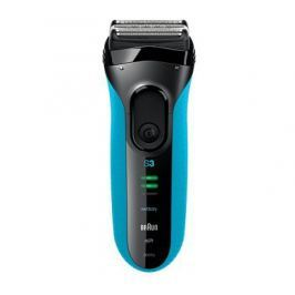 Braun Series 3 3010s (Wet&Dry) holíci strojek modrý