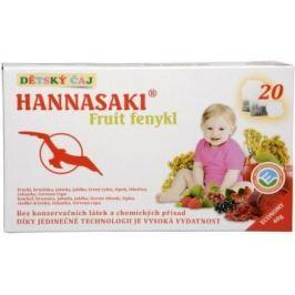 Hannasaki Fruit fenykl - dětský čaj n.s.20x2g