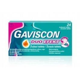 Gaviscon Duo Efekt žvýkací tablety por.tbl.mnd.24