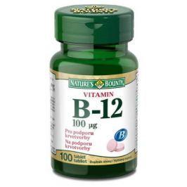 Nature's Bounty Vitamin B12 tbl.100x100mcg