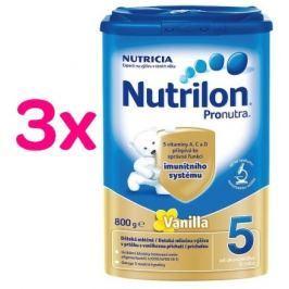 Nutrilon 5 Pronutra Vanilla 3 x 800g