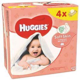 HUGGIES Soft Skin Quatro (56x4)