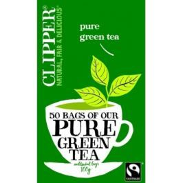aj Clipper Pure Green Tea 25x2g