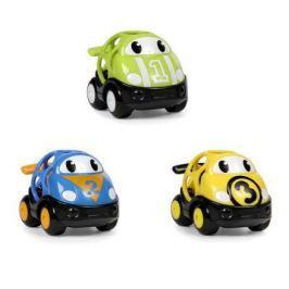 Hračka autíčko Oball Go Grippers 18m+, závodní 3ks