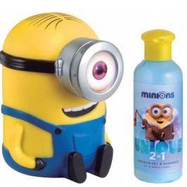 Šampon a sprchový gel pro děti s pokladničkou Mimoně 200 ml