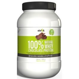 ALVIFIT 100% Natural WHEY Chocolate Protein 1000g Proteiny