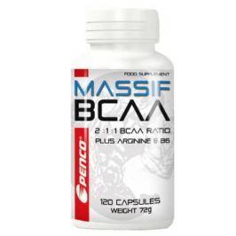 PENCO Aminokyseliny BCAA MASSIF 120 tobolek Aminokyseliny